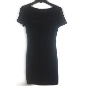Adrianna Papell Burnout Evening Dress Sz 4